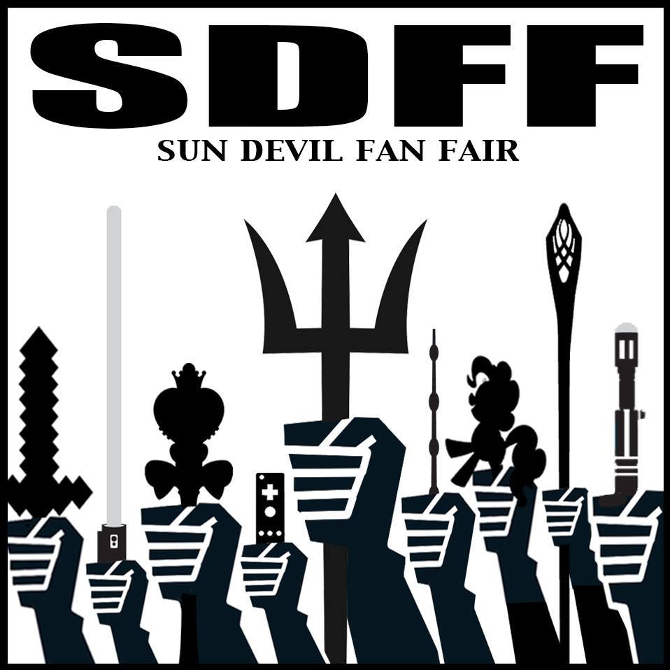 ASU Sun Devil Fan Fair Logo